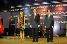 Celebran en Ciudad Ho Chi Minh Día de la Independencia de Estados Unidos