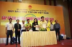 Vietnam aumenta apoyo financiero a los niños en situación difícil