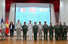 Vietnam y Francia fomentan cooperación en defensa