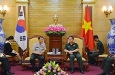 Vietnam y Sudcorea robustecen cooperación militar