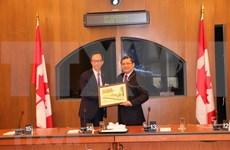 Vietnam y Canadá promueven cooperación legislativa e intercambian sobre CPTPP