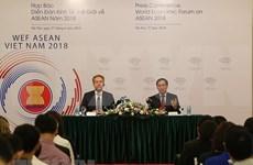 Hanoi acogerá conferencia de Foro Económico Mundial sobre ASEAN en septiembre