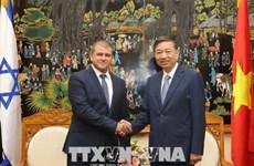 Vietnam e Israel robustecen cooperación en lucha contra crimen