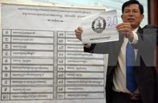 Inicia en Camboya campaña electoral