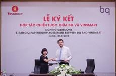 Grupo vietnamita Vingroup coopera con grupo español para producción de smartphones