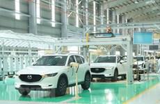 En tendencia alcista la producción de coches en Vietnam en primera mitad del año