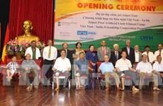 Discapacitados vietnamitas reciben asistencia de la India