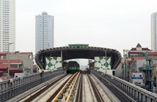 Ferrocarril Cat Linh-Ha Dong conectado a la red eléctrica nacional para operación experimental