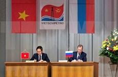 Vietnam y Rusia consolidan cooperación en industria petrolera