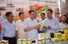 """Vicepremier vietnamita pide más recursos para programa """"Cada comuna, un producto"""""""
