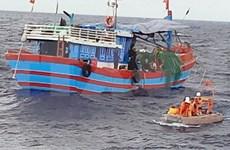 Trabajan fuerzas de rescate para encontrar a marinos vietnamitas desaparecidos cerca de isla Co To