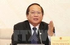 Presidente de Vietnam suspende del cargo a ministro  de Información y Comunicación
