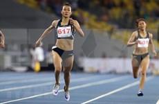 Numerosos deportistas internacionales participan en concurso de atletismo en Vietnam