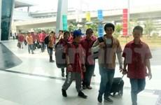 Repatriados 42 pescadores vietnamitas detenidos en Indonesia