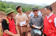 Cruz Roja de Vietnam llamó a mayor asistencia a connacionales afectados por inundaciones