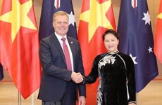 Presidente de Cámara de Representantes de Australia concluye visita a Vietnam