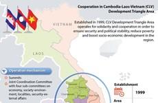 Revisan implementación de acuerdo de cooperación Camboya-Laos-Vietnam