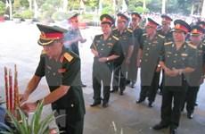 Rinden homenaje póstumo a combatientes vietnamitas caídos en Camboya