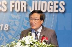 Tribunales de Vietnam y Singapur impulsan la implementación de acuerdo de cooperación