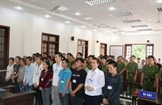 Inician juicio de primera instancia contra acusados de provocar desorden social en Dong Nai