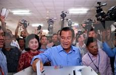 Partido gobernante CPP gana elecciones generales en Camboya