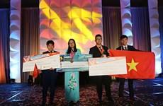 Jóvenes vietnamitas ganan medallas en concursos internacionales de informática y diseño gráfico