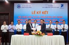 Da Nang coopera con grupo de telecomunicaciones VNPT en construcción de ciudad inteligente