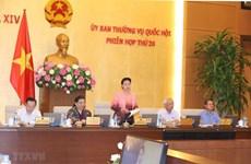 Inauguran XXVI Reunión del Comité Permanente del Parlamento de Vietnam