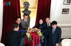 Inauguran en hospital vietnamita busto en homenaje a la científica Marie Curie