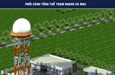 Vietnam construye estación de radar de vigilancia secundaria en provincia del extremo sur