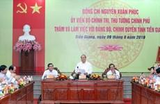 Premier de Vietnam sugiere a Tien Giang desarrollo de economía basada en agricultura