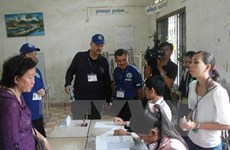Camboya publica resultados preliminares de elecciones generales