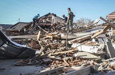 Isla Lombok de Indonesia se elevó 25 centímetros tras sismo