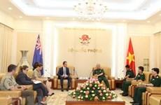 Vietnam y Australia promueven cooperación en defensa