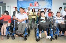 Agencia estadounidense financia proyectos auxiliares para discapacitados en Vietnam