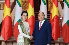 Vietnam y Myanmar por fortalecer nexos de asociación de cooperación integral