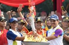 Llega a Yakarta antorcha de los Juegos Asiáticos