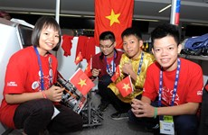 Participa Vietnam en Mundial de Robótica en México