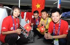 Equipo vietnamita cosecha buenos resultados en Mundial de Robótica en México
