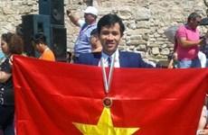 Estudiante vietnamita gana medalla de oro en concurso Matemática sin fronteras