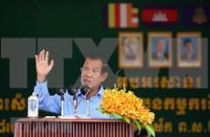 Premier de Camboya se reúne con líderes de partidos políticos después de ganar elecciones