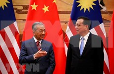 Malasia cancela importantes proyectos de infraestructura con China