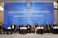 Vicecanciller vietnamita llama a ASEAN a promover resiliencia en era de Industria 4.0
