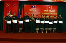 Vietnam y Laos cooperan en capacitación del personal sobre museografía