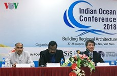 Seminario océano Índico en Hanoi coadyuvará a agilizar lazos estratégicos en la zona
