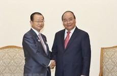 Premier vietnamita aprecia asistencia oficial para el desarrollo de Japón a su país