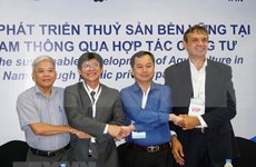 Lanzan proyecto dedicado al desarrollo sostenible de la pesca en Delta del Mekong en Vietnam