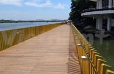 Ultiman construcción de ruta peatonal financiada por Corea del Sur en provincia vietnamita