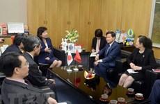 Delegación de la Inspección del Gobierno de Vietnam visita Japón