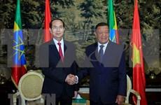 Vietnam y Etiopía debaten medidas para agilizar lazos multifacéticos binacionales